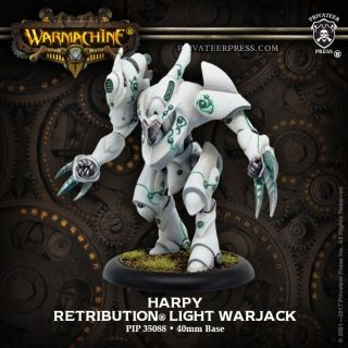 Harpy – Retribution of Scyrah Light Warjack (resin/metal)